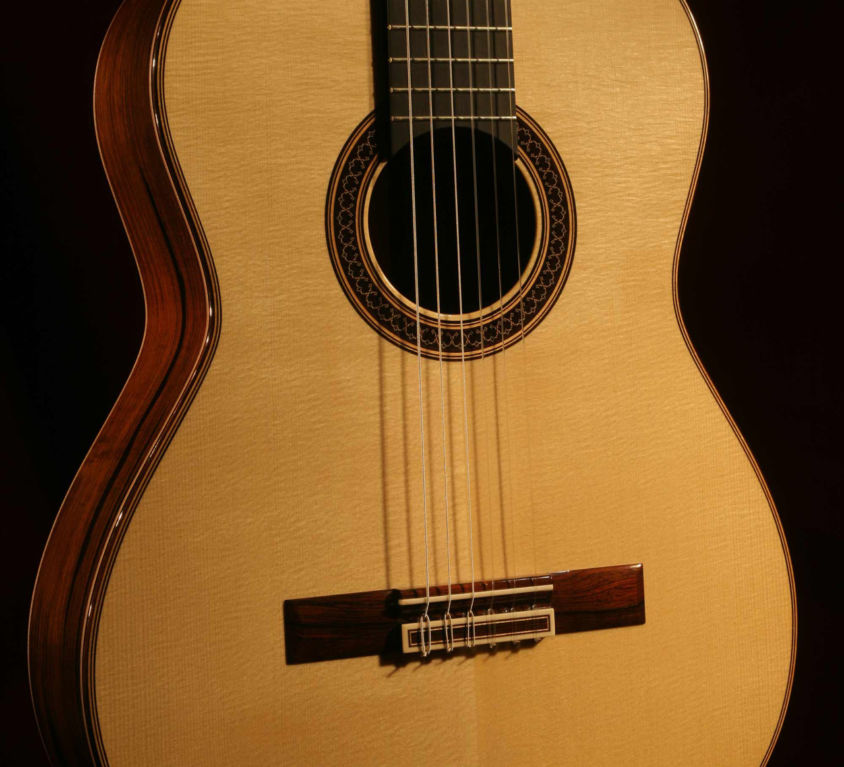 Brazilian Rosewood and Engelmann Spruce Guitar