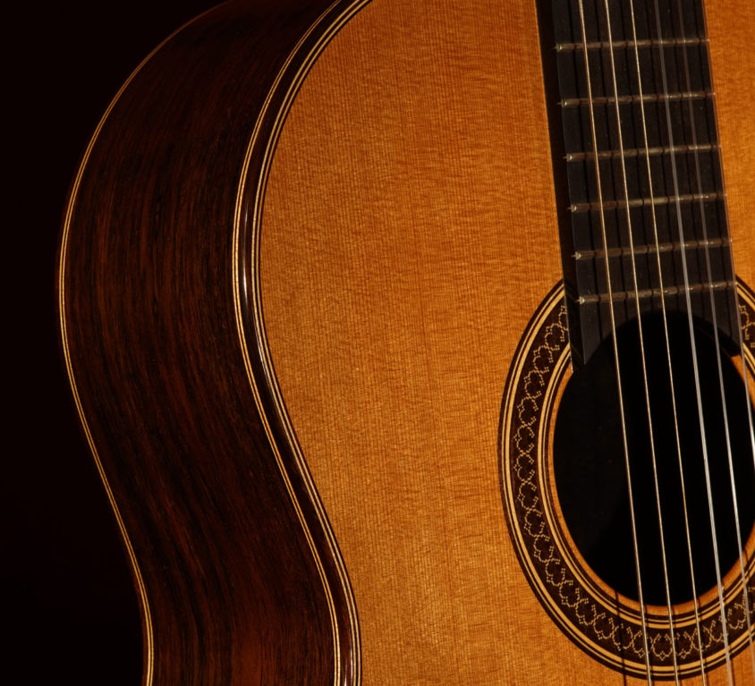 Brazilian and Cedar Guitar (2013)