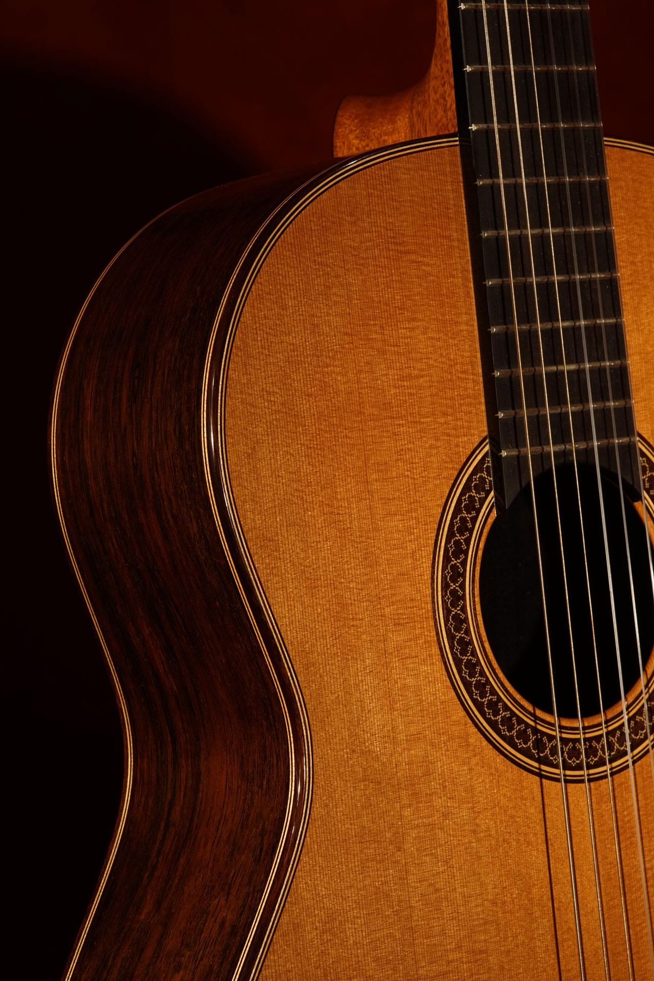 Brazilian and Cedar Guitar