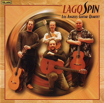 Los Angeles Guitar Quartet - Spin